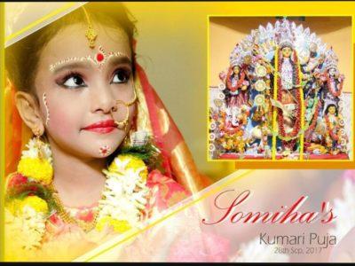 Somiha's Kumari Puja