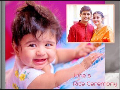 June's Rice ceremony